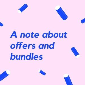 My offer/bundle guidelines